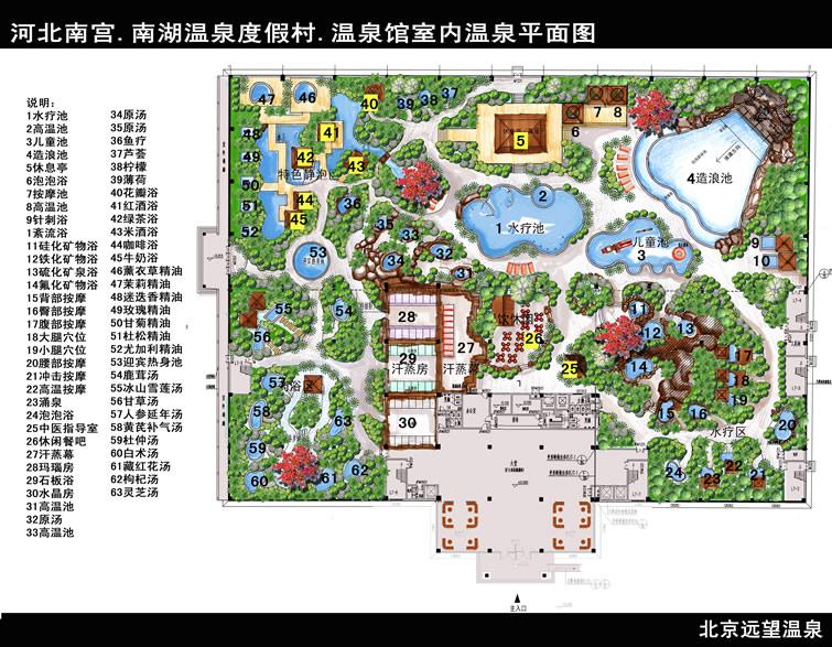 總平面圖-北京遠望柏麗風景園林工程設計有限公司